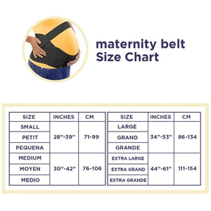 "The""Original"" Maternity Support Belt - by Loving Comfort - Provides Comfort and Relief Throughout Pregnancy - Beige - Small"