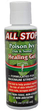 Healing Gel for Poison Ivy, Burns, Scrapes, Wounds, Skin Anticeptic - 4 oz