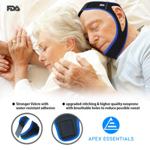 Anti Snoring Chin Strap | Premium Snoring Solution & Sleep Aid | Upgraded Anti Snoring Sleep Management Device | Most Effective Snore Chin Strap for Men & Women | Lifetime Replacement
