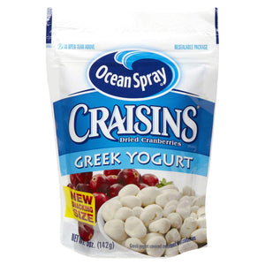Ocean Spray Craisins Greek Yogurt Covered, 5 oz
