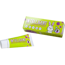 Intelligent Enzymatic Kids Toothpaste Grape - White Healthy Teeth for Baby and Toddler, Natural Unflavored Infant Tooth Paste, Sulfate-Free, Fluoride-Free, 2 pcs x 1.37 Ounce