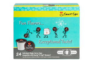 Smart Sips, Frosted Gingerbread Cookie Latte, 24 Count Single Serve Cups for Keurig K-cup Brewers