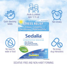 Boiron Sedalia Tablets for Stress Relief, 120 count
