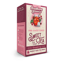 Southern Breeze Sweet Tea, Raspberry, 16Count (Pack of 6) Pack of 6