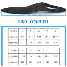 "iFitna Semi-Rigid Arch Support Insoles,High Elasticity Carbon Ultra-Thin Leather Insert for Flat Feet,Met and Heel Insert,Plantar Fasciitis, Arch Pad MEN 6-6 1/2|WOMEN 8-8 1/2 ---250MM/9.87"" Black02"