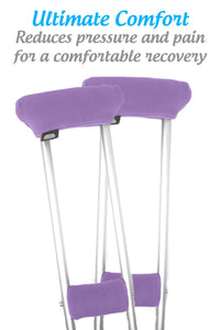 "Deal: Crutch Comfort""Get Well Soon"" Deluxe Crutch Accessory Gift Bundle (Playful Purple) Playful Purple"