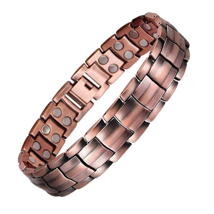 Copper and Magnetic Bracelet for Men Large Copper Bracelet 8.5