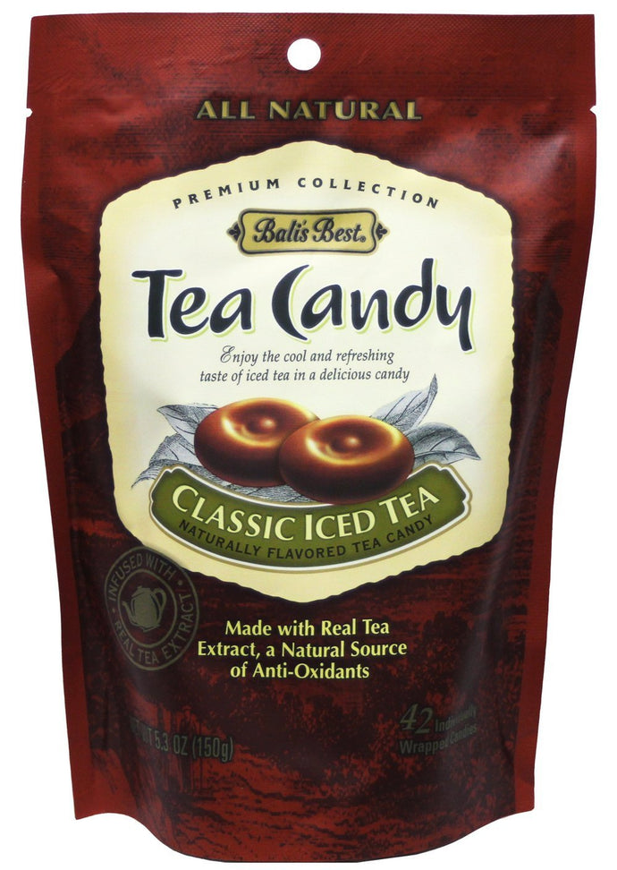 Bali's Best All Natural Premium Collection Classic Iced Tea Candy, 5.3oz (Pack of 3)