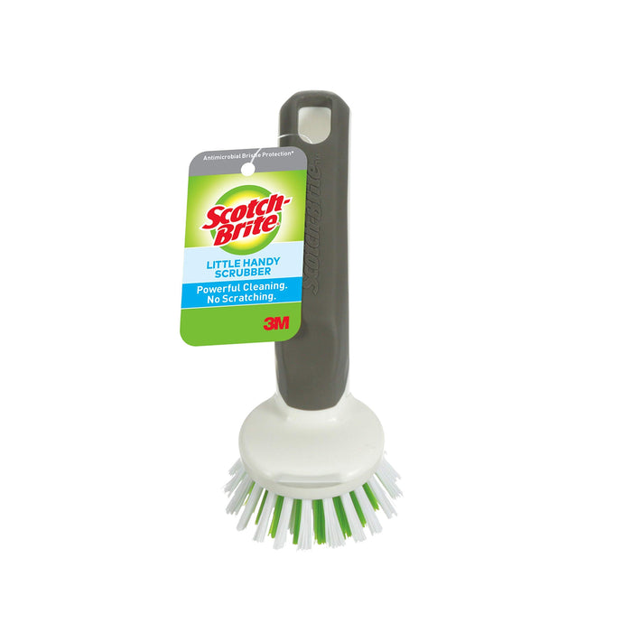 Scotch-Brite Little Handy Scrubber, Small & Versatile Cleaning Tool with Long Lasting Bristles, 6 scrubbers