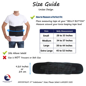 Back Brace for Lower Back Pain – Lumbar Support Belt for Sciatica Nerve Pain Relief Weight Lifting & Low Spine Stabilizer for Scoliosis. Lower Back Compression for Bulging Herniated Disc (Medium) Medium