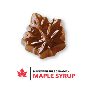 Premium Canadian Maple Sugar Hard Candy Drops Made from Pure Maple Syrup from Canada - Tristan Foods (228g) 228g