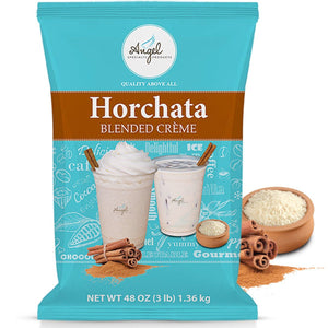 Horchata Blended Crème Mix by Angel Specialty Products [3 LB]