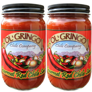 Ol' Gringo Chile Company Red Chile Sauce, Medium Heat (2 Pack) 2 Pack