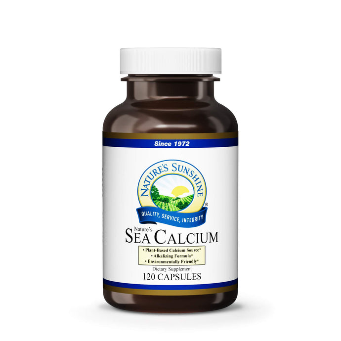 Nature's Sunshine Sea Calcium 120 Capsules