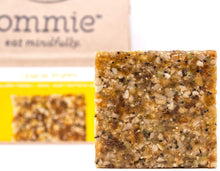 Ommie Snacks Nut-Free Energy Bar (7 Pack) - Lemon Poppy Fruit & Seed Bar | Allergy Free: Nut Free, Gluten Free, Soy Free, Egg Free, Dairy Free | Vegan | Free of Junk: No added sugars, dates or oats 7-pack