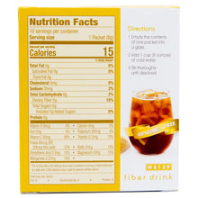 WonderSlim Low-Carb High Fiber Drink / Supplement Mix - Lemon Iced Tea (10 Servings/Box) - Low Carb, Sugar Free, Low Calorie, Fat Free 1 Box - 10 Servings