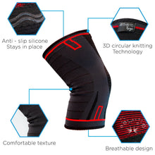 ArthritisHope Knee Compression Sleeve - (2XL) - Knee Braces for Arthritis, give Support and Comfort from Pain Caused by Osteoarthritis and Rheumatoid Arthritis XX-Large
