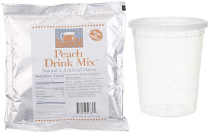Thirst Ease Peach Drink Mix, 18 oz, with Container 18 Ounce
