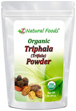 Organic Triphala (Trifala) Powder - Support Healthy Digestion - Gentle Natural Cleanse & Detox - 3 Ayurvedic Superfoods - Raw, Non GMO, Gluten Free, Vegan - 1 lb 1.0 Pounds
