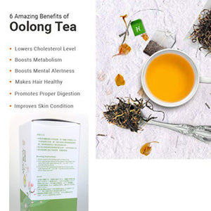 Tepacito Oolong Tea Loose Leaf Taiwan High Mountain Lishan Tea Naturally Grown Fresh Flavor Delicious Health Attributes Unique Aroma Weight Loss