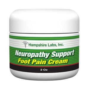 Neuropathy Foot Pain Cream for The Temporary Relief of Foot Pain and Minor Aches and Pains of The Muscles and Joints Associated with Simple Backache, Sprains, Bruises and Strains.