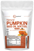 Maximum Strength Pumpkin Seed Oil 2000mg Per Serving, 300 Liquid Softgels, Supports Urinary, Bladder and Prostate Health, No GMOs and Vegan Friendly