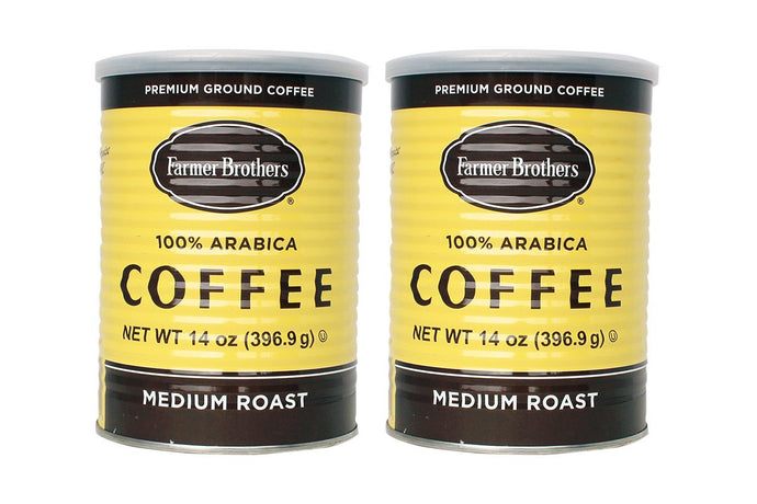 Farmer Brothers 100% Arabica Medium Roast Ground Coffee - Rainforest Alliance Certified (2-Pack) 2 Pack