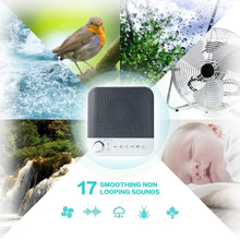 White Noise Machine for Sleeping, Portable Baby Sleep Sound Machine Travel Sleep Sound Therapy Machine with17 Soothing Sounds Nightlight for Adult Baby Kids Traveler Home Office Travel Sleep 1