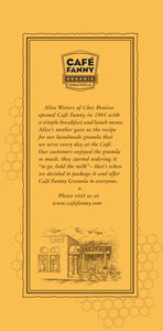 Cafe Fanny Organic Granola (3 Pack)