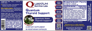 Quantum Thyroid Support, 60 Vegetarian Capsules - Quantum-State Detoxification and Thyroid Support