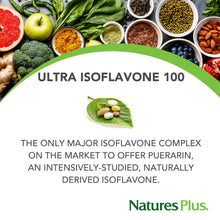 NaturesPlus Ultra Isoflavone 100-100 mg, 60 Vegetarian Tablets - Soy Supplement, Menopause Symptom Relief, Naturally Reduces Hot Flashes - Gluten-Free - 30 Servings