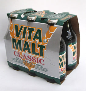 "Vitamalt: ""Vitamalt"" Non Alcohol Malt Beer Taste Beverage 33cl (11oz) Pack of 6 [ Italian Import ]"
