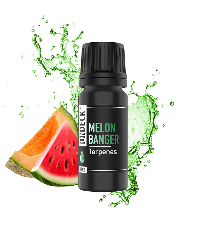 ON DECK Terpenes - Melon Banger | 4ML | 24 - Strain Specific Profiles | 100% Pure Organic Concentrate | Natural |