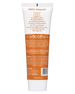 Simply Silver Cinnamon Toothpaste - Naturally Whitening Sensitive Teeth Formula 4 Oz