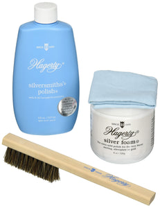 W. J. Hagerty Complete 4-Piece Silver Care Kit