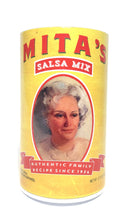 Mita's Salsa Mix ,Makes 16 bowls of fresh salsa, ready in seconds! Just add diced tomatoes!
