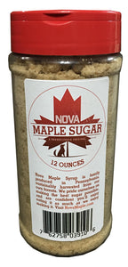 Nova Maple Sugar - Pure Grade-A Maple Sugar (12 Ounces)