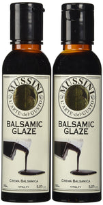 Mussini Crema, Glaze of Balsamic Vinegar of Modena, 5.07-Ounce Bottles (Pack of 2) Natural 2 pack