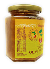 Guava Gourmet Marmalade (12oz, Jar) with Tropical Fruit Chunks; All-Natural, Non-GMO, Vegan, Gluten and Cholesterol-Free, Artisan Crafted, No Fillers or Preservatives Guava Marmalade 12 Ounce Single-Pack