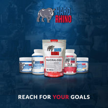 Hard Rhino Sucralose Powder, 125 Grams 125 Gram (4.4 Ounce)