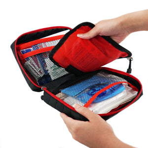 200 Piece Value First Aid Kit with Bonus Removable Mini First Aid Kit