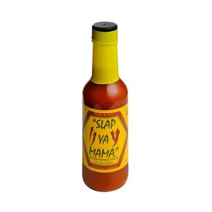 Slap Ya Mama All Natural Louisiana Style Hot Sauce, Cajun Pepper Flavor, 5 Ounce Bottle, Pack of 2