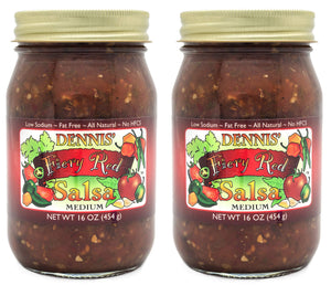 All-Natural Fiery Red Salsa by Dennis' Gourmet