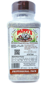 Pappy's Seasonings (Garlic Herb, 28oz) Garlic Herb 28 Ounce
