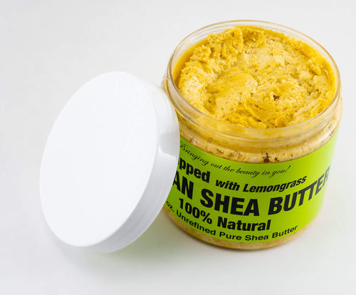 African Shea Butter Whipped - Lemongrass