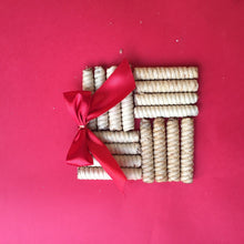 Three Pack Pirucream Rolled Wafers, Chocolate Hazelnut & Coconut Can 300 grs./ 10.59 Oz