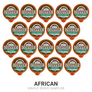 Fresh Roasted Coffee LLC, Organic Sampler Coffee Pod Variety Pack, USDA Organic, Compatible with 1.0 / 2.0 Single-Serve Brewers, 12 Varieties, 72 Count Organic Sampler Variety Pack Variety 72 Count