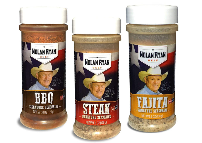 Nolan Ryan Signature Seasoning Trio