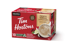 Tim Horton's Cappuccino French Vanilla k-cups 8 Count {Imported from Canada}