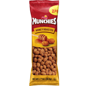 Munchies Peanut Variety Pack (Salted, Flamin' Hot, Honey Roasted), 36 Count